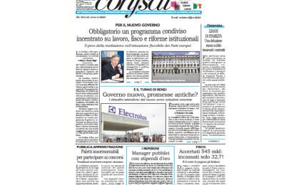 Giornale Conf.sal del 20 Febbraio 2014