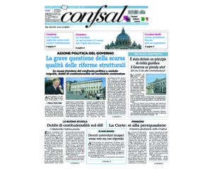 Giornale Confsal del 21 luglio 2015