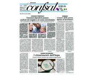 Giornale Confsal del 30 settembre 2015
