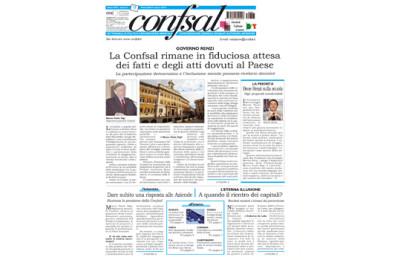 Giornale Conf.sal del 5 marzo 2014